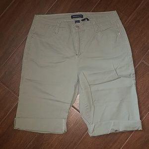 Light Green Bermuda Shorts